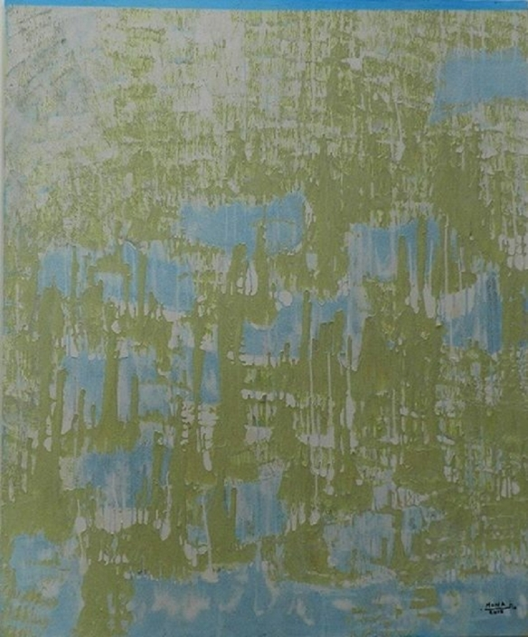 Acryl auf Leinwand 150 x 150 cm Collection Asilah - Morocco