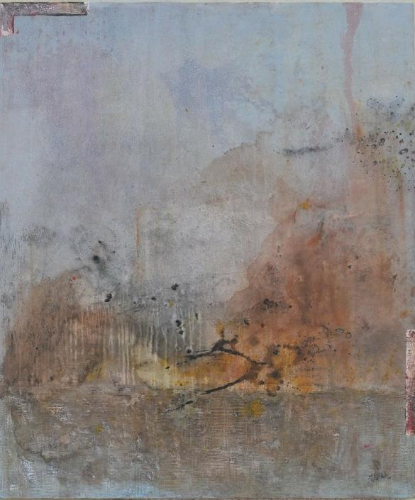 Acryl auf Leinwand 150 x120 cm in Collection of CAP Gallery Jordan