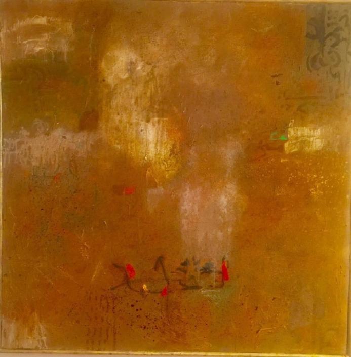Acryl auf Leinwand 150 x 150 cm - sold