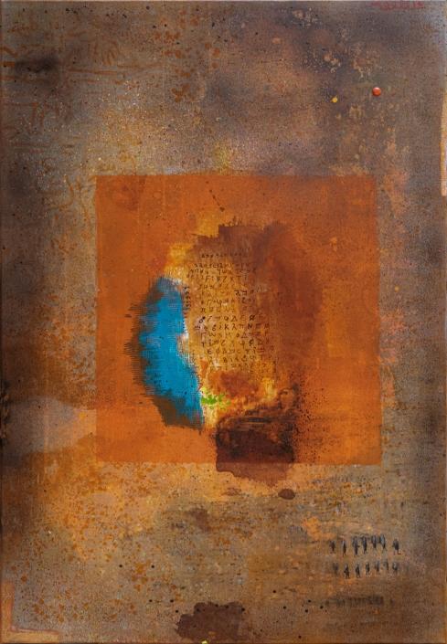Acryl auf Leinwand 116 x 81 cm
